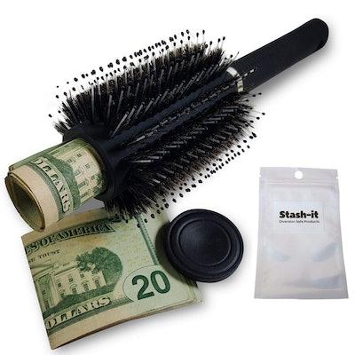 Stash-It Safe Hairbrush