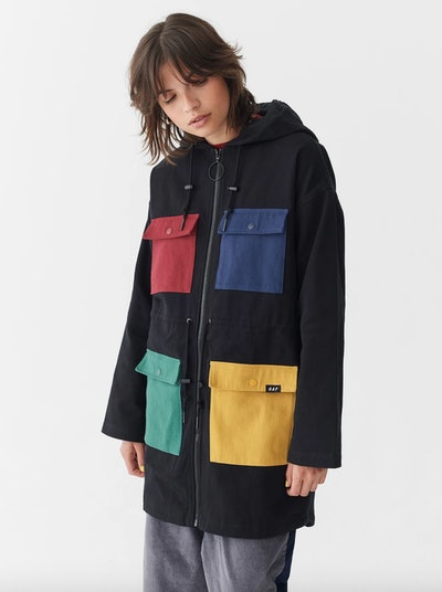 Colour Pocket Coat