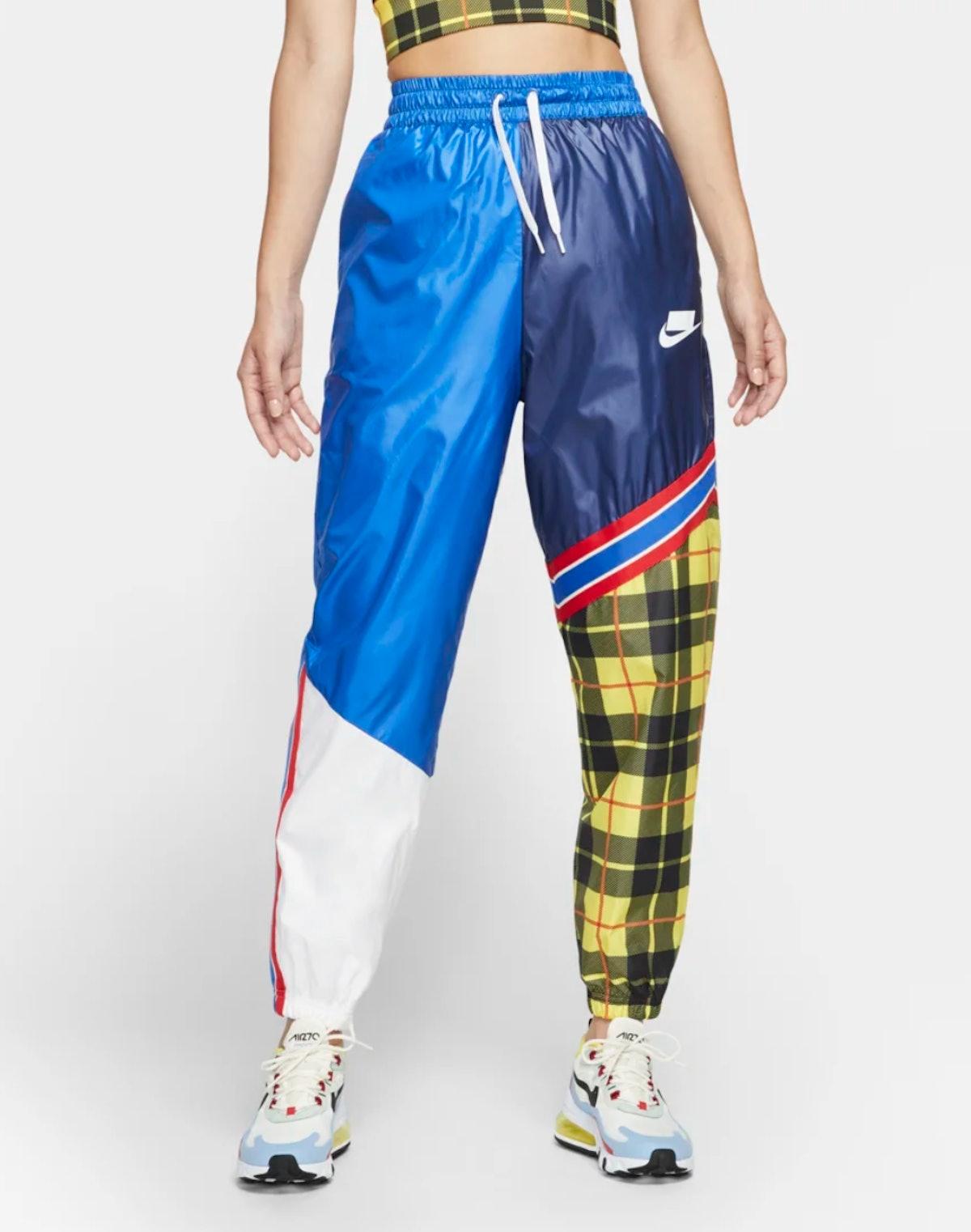 Women's Woven Plaid Pants