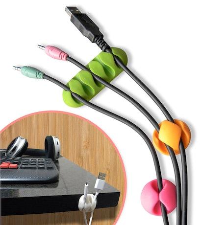 Smart Storage Cable Clips (10-Piece Set)
