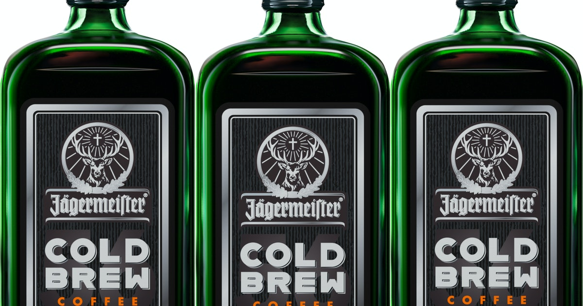 Jagermeister Cold Brew Coffee Is On The Way
