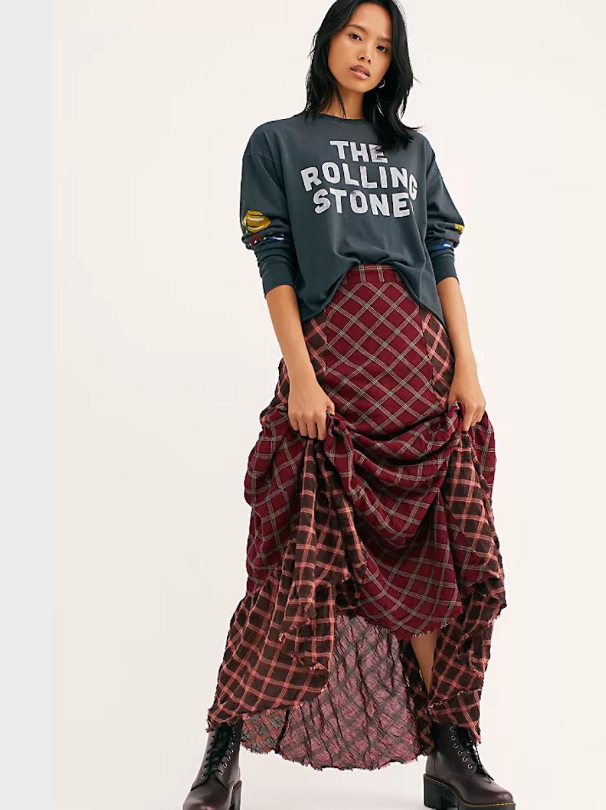 Prairie Dreams Maxi Skirt