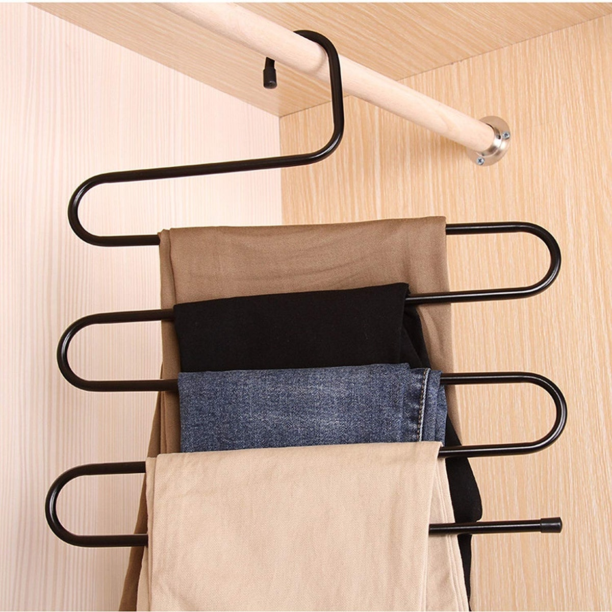 Deveasanter Multi-Layer Hanger (4-Pack)