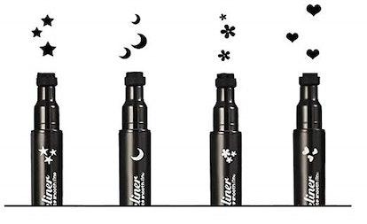 Pinkiou Eyeliner Pencil Pen With Eye Makeup Stamp (4-Pack)