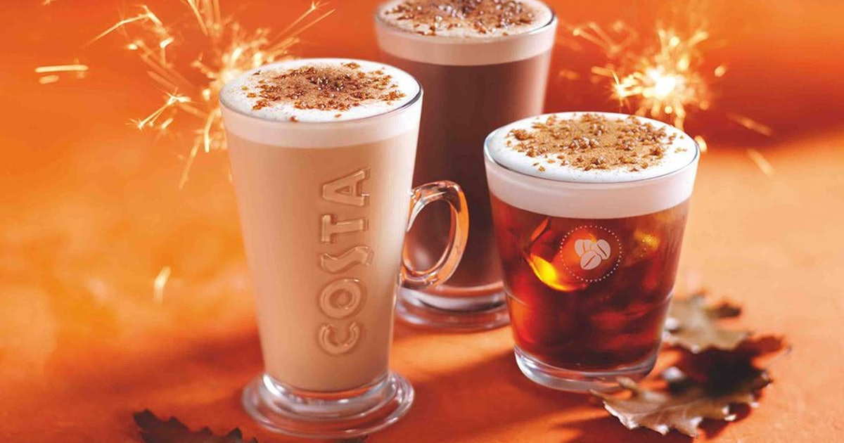 Costa's New Autumn Menu Features A Lotus Biscoff Muffin & I Am Living For It