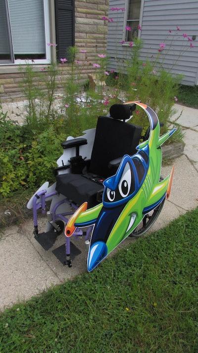 Fighter Jet Wheelchair Costume