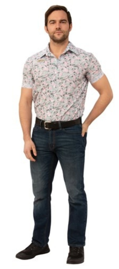 Jim Hopper Hawaiian Style Shirt