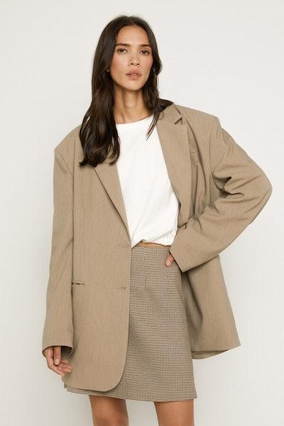 Menswear-Inspired Blazer K005