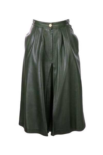 70s Leather Culottes