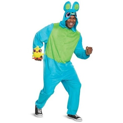 Adult Toy Story Bunny Union Suit Halloween Costume