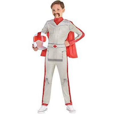 Duke Caboom Halloween Costume for Boys, Toy Story 4, Includes Accessories