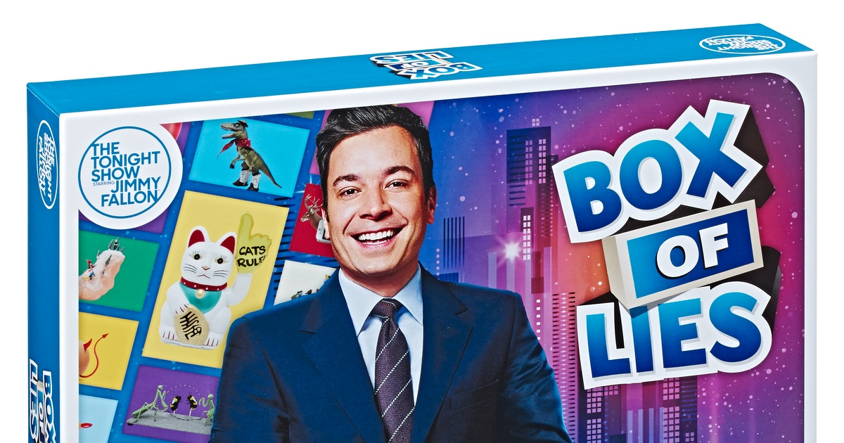 'The Tonight Show With Jimmy Fallon' Board Games Are Here & You're So Ready For This
