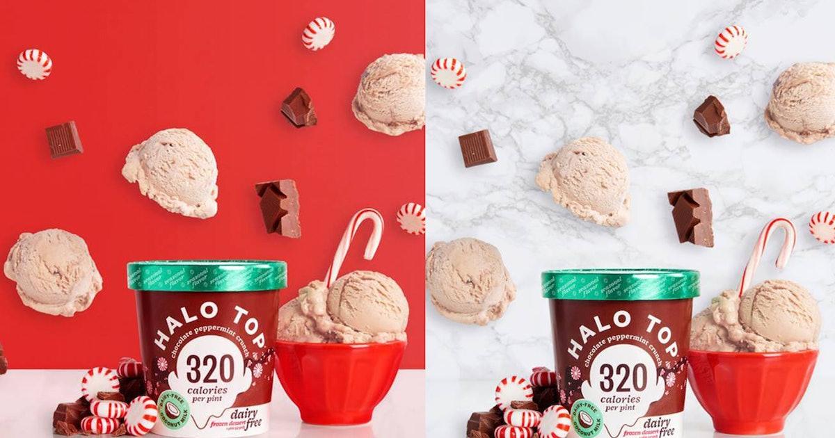 Halo Top's Vegan Chocolate Peppermint Crunch Flavor Just Hit Shelves