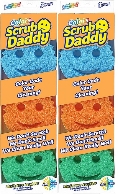Scrub Daddy Sponges (6-Pack)