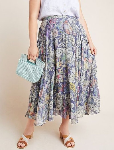 Miele Floral Midi Skirt