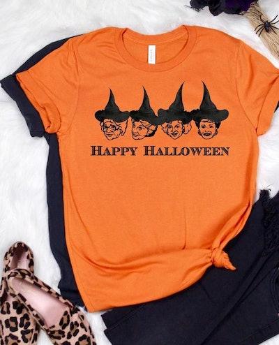 Halloween Squad Goals T-Shirt Golden Girls