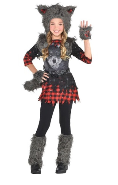Girls She Wolf Costume