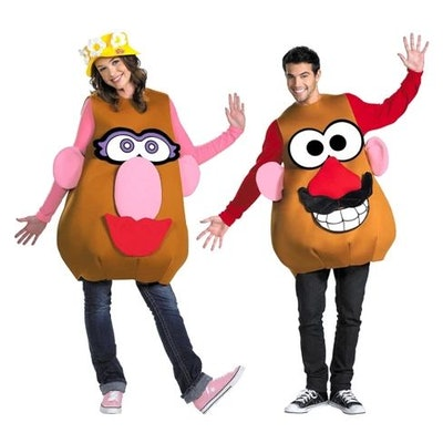 Adult Mr. or Mrs. Potato Head Deluxe Costume One Size