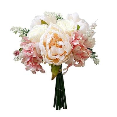 Yamalans Artificial Peony Rose Bouquet