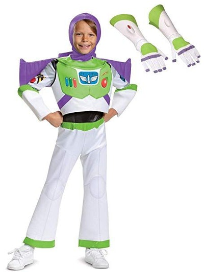 Toy Story Kids Buzz Lightyear Deluxe Costume Kit