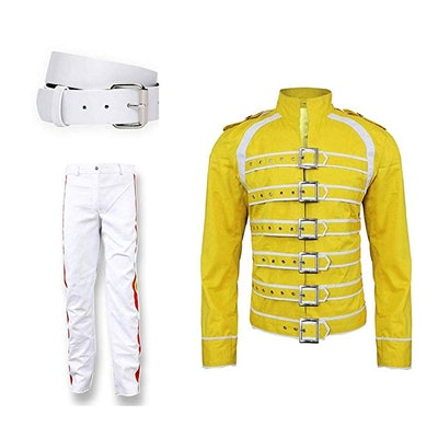 Spazeup Freddie Mercury Concert Queen Cotton Costume