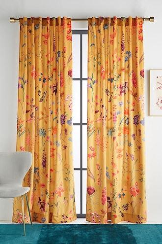 "Layne Velvet Curtain (63"" x 50"")"