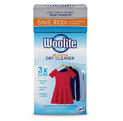 Woolite At Home Dry Cleaner, Fresh Scent (6-Pack)