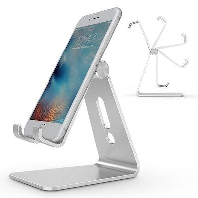 OMOTON Aluminum Desktop Cellphone Stand