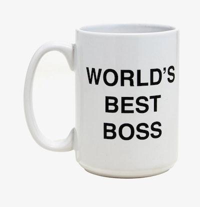 The Office World's Best Boss Mug