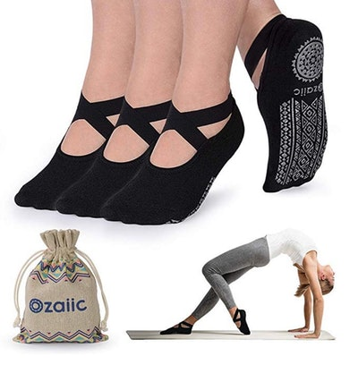 Ozaiic Yoga Socks (3 Pairs)