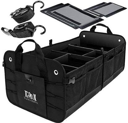 TRUNKCRATEPRO Extra Large Collapsible Trunk Organizer
