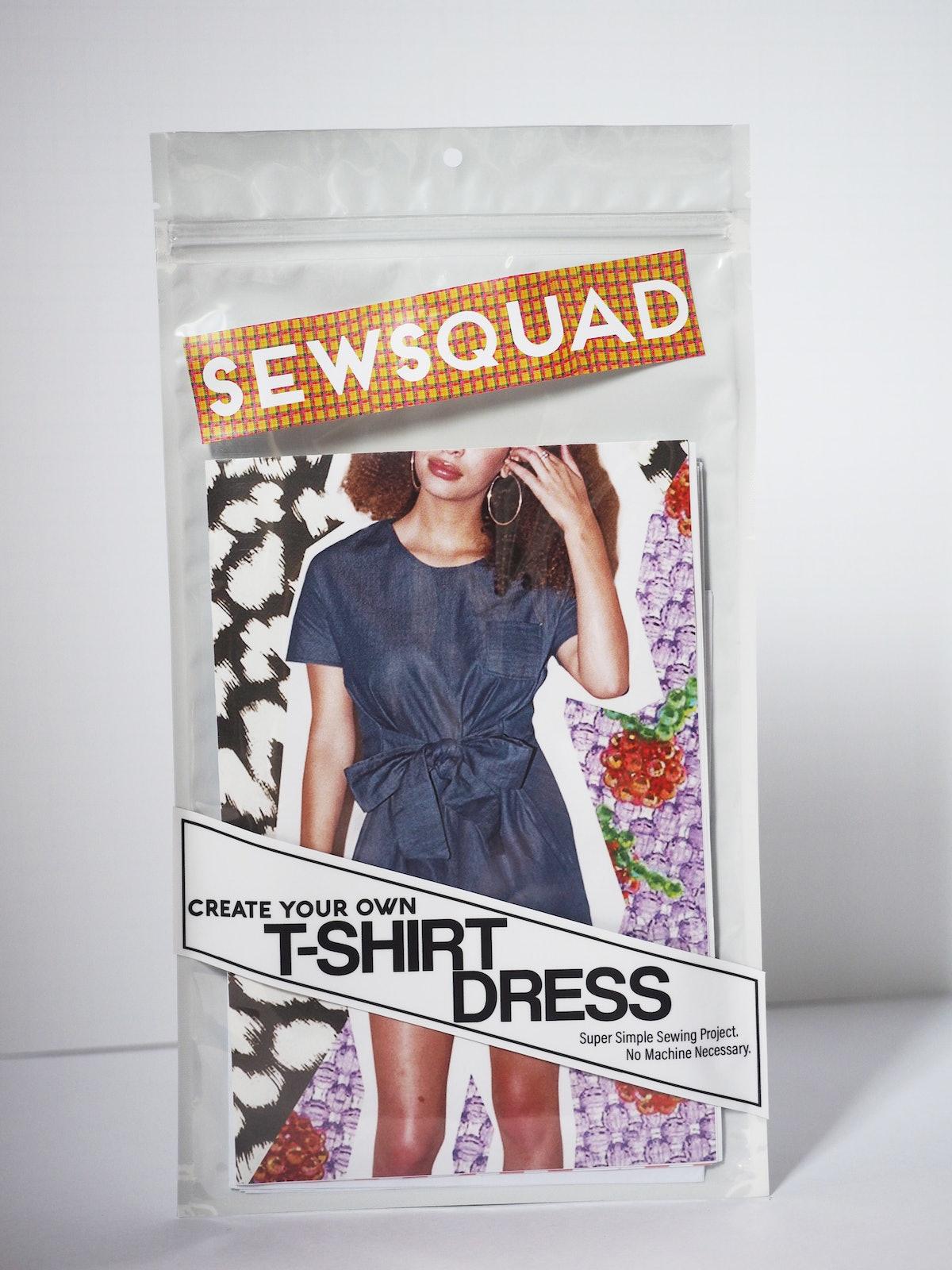 T-Shirt Dress Sewing Pattern
