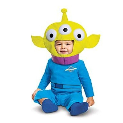 Baby Boy's Disney Pixar Toy Store and Beyond Alien Classic Costume