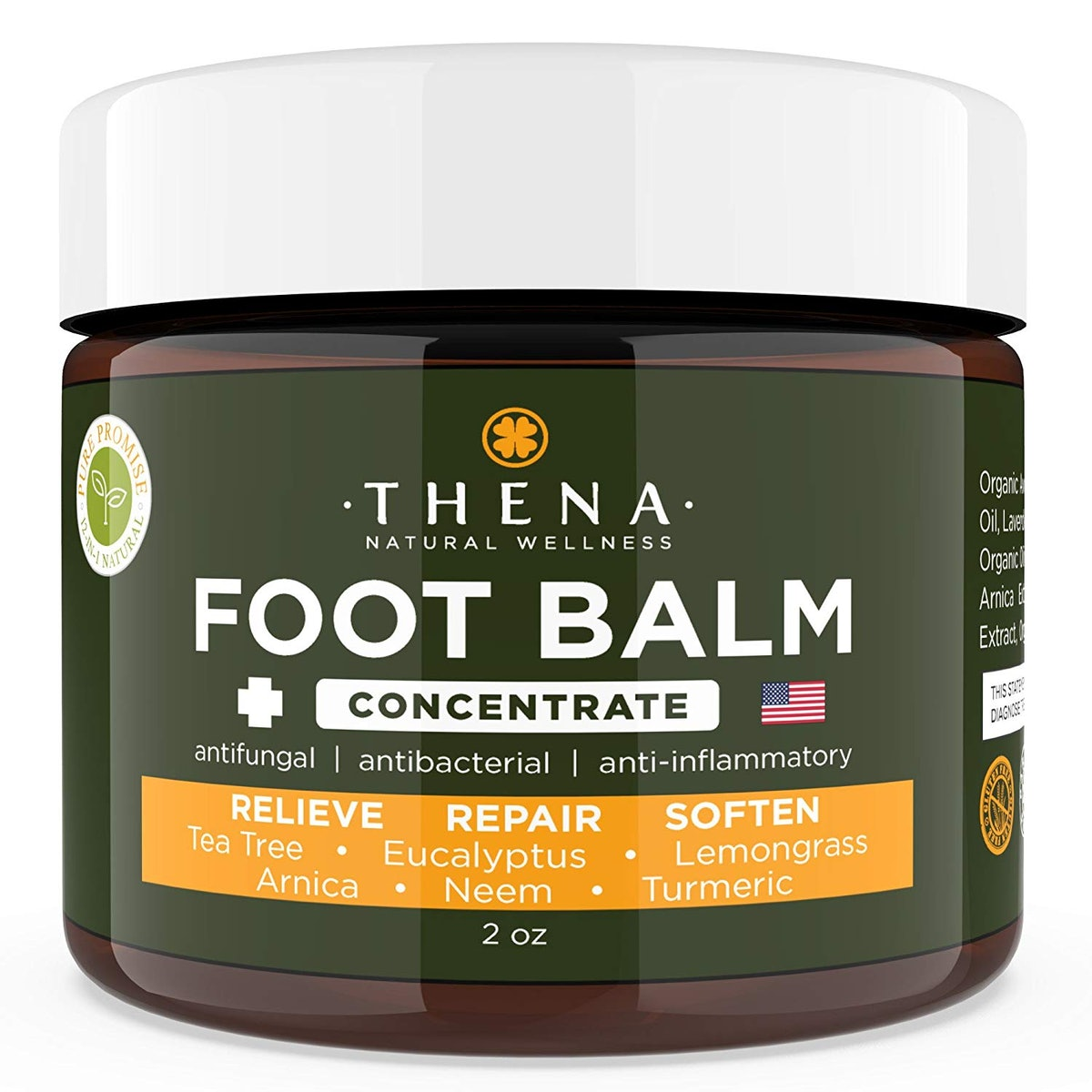THENA Natural Wellness Foot Cream