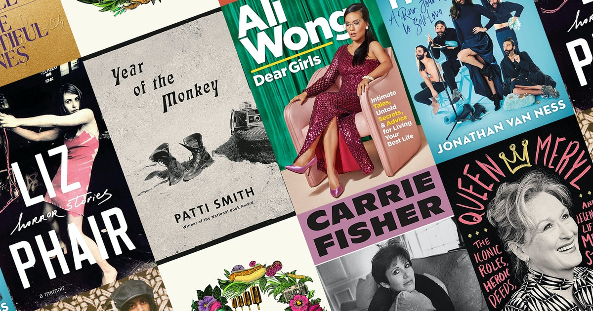 21 New Celebrity Memoirs & Biographies That Will Leave You Starstruck This Fall