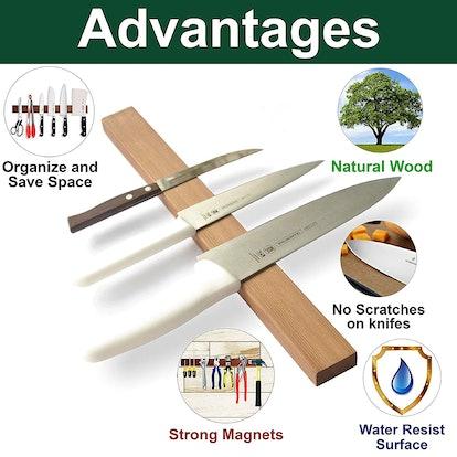 Simple Useful Magnetic Knife Strip