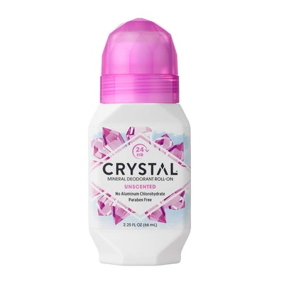 CRYSTAL Unscented Body Deodorant Roll-On