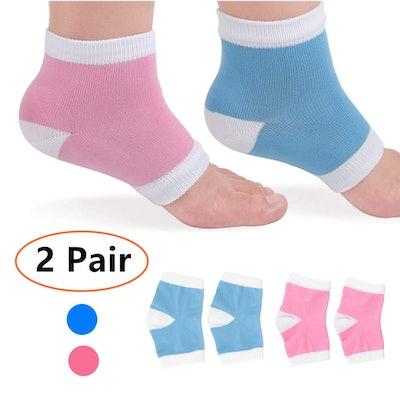 HAITAO Cotton Gel Spa Socks (2 Pairs)