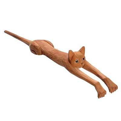 What On Earth Basswood Cat Back Scratcher