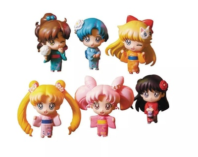 Little Buddy LLC Sailor Moon Series 1 Blind Box Petit Chara Mini Figure, One Random