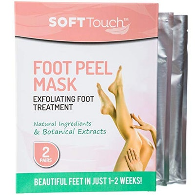 Soft Touch Foot Peel Mask (2-Pack)