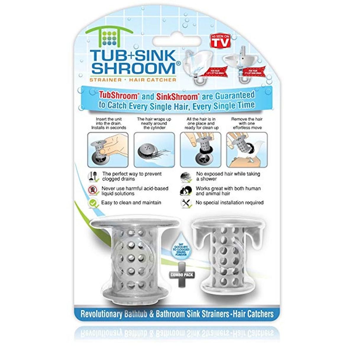 TubShroom and SinkShroom Drain Protectors