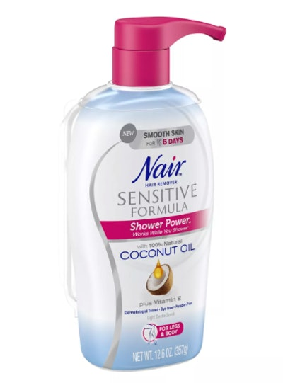 Nair Shower Power Sensitive with Coconut Oil
