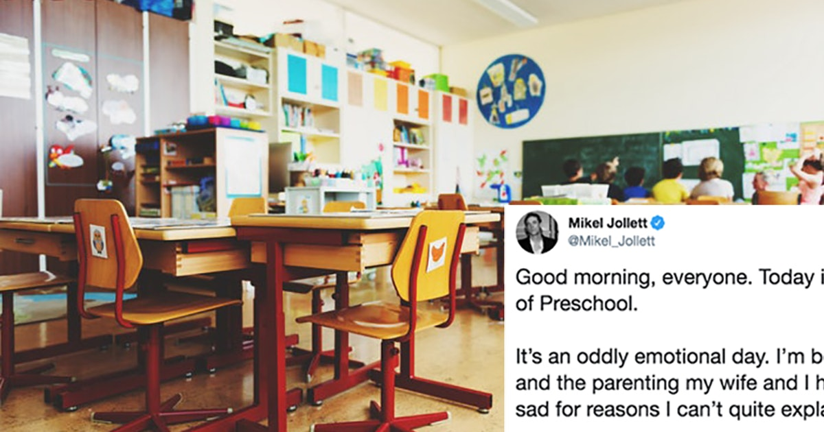 Dad's First Day Of School Tweet Proves That It's Just As Hard As Parents As It Is For Kids