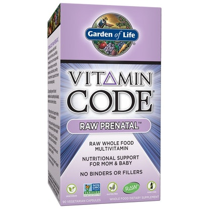 Garden of Life Vitamin Code Raw Prenatal Vegetarian Multivitamin Supplement