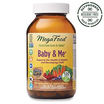 MegaFood, Baby & Me, Prenatal and Postnatal Multivitamin