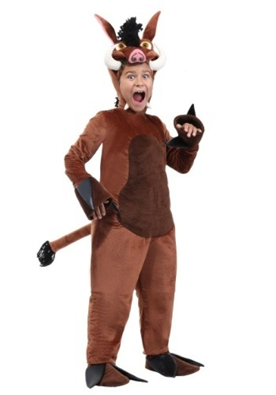Warthog Costume for Kids