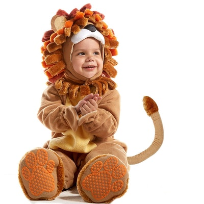 Deluxe Baby Lion Costume Set