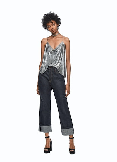 Relaxed Raw Denim Jeans