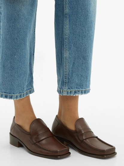 Britney Leather Loafers
